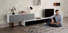 Interior decoration for small living by BoConcept