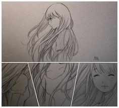 beautiful girl Chibi, Female, Drawings, Life, Beautiful, Art, Art Background, Kunst, Sketches