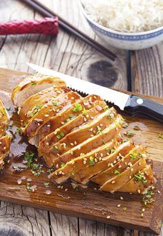 Easy Baked Honey-Teriyaki Chicken Really nice recipes. Every  Mein Blog: Alles rund um die Themen Genuss & Geschmack  Kochen Backen Braten Vorspeisen Hauptgerichte und Desserts # Hashtag