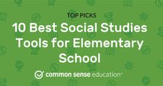 Top apps and websites for elementary-level social studies. Explore this 10 Best Social Studies Tools for Elementary School Top Picks list of 10 tools curated by Common Sense Education editors to find relevant and engaging edtech solutions for your classroom. Student Information, Reading Practice, National Geographic Kids, Student Engagement, Learning Resources, Common Sense, Top Apps, Social Studies, Elementary Schools