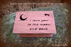 music box custom made music box musical jewelry by Simplycoolgifts, $89.00