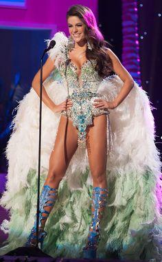 Miss Brazil, Miss Universe, Costume