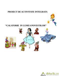 """Proiect de activitate integrata""""Calatorie in lumea povestilor""""   maria_marilena82   06.04.2016"""