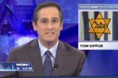 Une chaîne américaine utilise une étoile jaune pour illustrer un sujet sur Yom Kippour. - soirmag.be