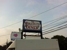 Brooklyn Diner sign installed. #globaltechnj #globaltech