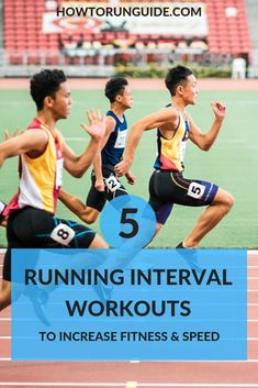 Increase endurance and speed with these 5 super-effective running interval workouts (plus a full guide on interval training for runners). Interval Running, Interval Workouts, Running Workouts, Running Tips, Men Workouts, 5k Training Plan, Half Marathon Training, Marathon Running, Men's Health Fitness
