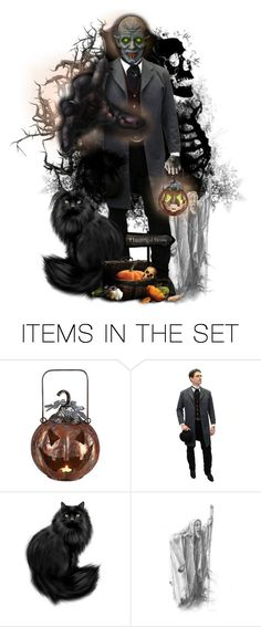 """Trick Or Treat!"" by halloweenismyfav ❤ liked on Polyvore featuring art and trickortreat"
