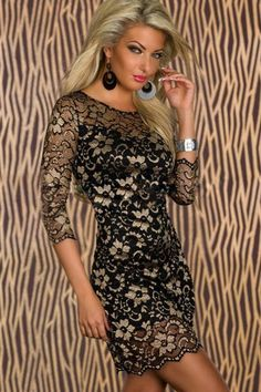 Waistline: Natural Fabric Type: Lace Dresses Length: Above Knee, Mini Silhouette: Sheath Neckline: Sweetheart Sleeve Length: Three Quarter Decoration: Flowers Sleeve Style: Regular Material: Acrylic,Polyester Built-in Bra: No