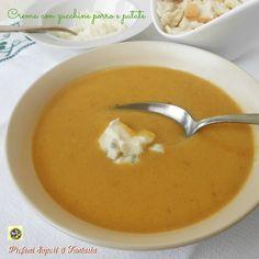 Crema di zucchine con porro e patate Blog Profumi Sapori & Fantasia