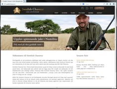 Webbplats till Swedish Chasseur. www.swedishchasseur.se
