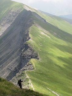arrête de l'Aiguille Croche au Mont Joly - les contamines