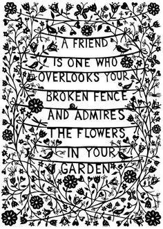 Vänner.