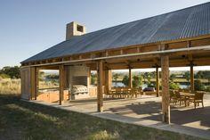 How to Construct a Simple Garage Pole Barn style - Outdoor Diy - - How to Construct a Simple Garage Pole Barn style rustic pavilion plans Metal Building Homes, Building A House, Building Ideas, Outdoor Rooms, Outdoor Living, Outdoor Pavillion, Gite Rural, Gazebos, Backyard Gazebo