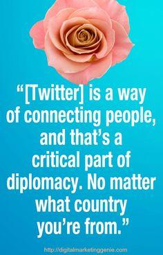 Social Media and Diplomacy. Social Good Summit 2012 - I agree. Social Media List, Social Media Marketing Agency, Social Media Quotes, Social Media Services, Social Media Trends, Marketing Quotes, Internet Marketing, Digital Marketing, Twitter Tips