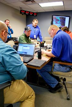 Operations center plans for disaster response