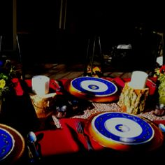 Oklahoma china decor for Susan's Birthday