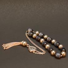 Κομπολόι σε ασήμι 925 με ημιπολύτιμες πέτρες Κωδ COMAA0003S 95,00 € Beaded Bracelets, Gold, Jewelry, Jewlery, Bijoux, Pearl Bracelets, Schmuck, Jewerly, Jewels