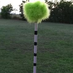 The lorax trees for decoration at the pre k graduation at my moms school (:
