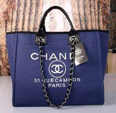 Spring Summer 2017 Pre Collection Denim Calfskin Silver Tone Metal Blue Orange Chanel Pinterest Bag Purse And Coco