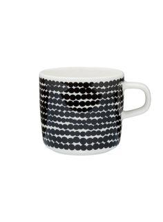 Marimekko Siirtolapuutarha Räsymatto Blue and White Cup in Kitchen and Table Blue Coffee Cups, My Coffee, Tea Cups, Coffee Mugs, Coffee Cafe, Coffee Shop, Marimekko, Kitchenware, Tableware