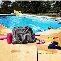 The All In Tote is great as a pool bag!