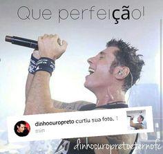 Foto que editei para o Fã Clube Dinho Ouro Preto Eterno Fc