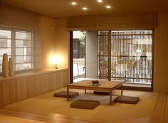 I would love, love, love to have a traditional Japanese tatami room. It could be for entertaining, relaxing, or serving as a guest room.