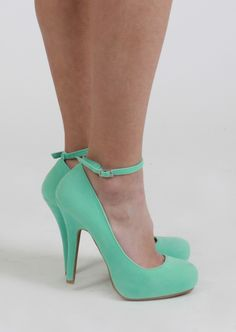 Mint Heels #shoes