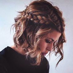 This gorgeous braid is easy to style and works for medium length hair too.