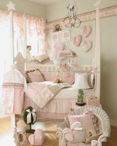 Modern Baby Girl Crib Bedding By Glenna Jean