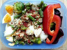 Naturalna kuchnia wegetariańska: Mój ulubiony zestaw lunch box'owy