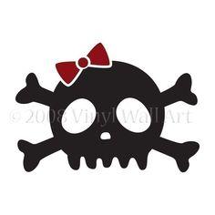hmmm cute skull tattoo?