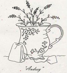 """Tea Party """"Audrey"""" Pattern"""