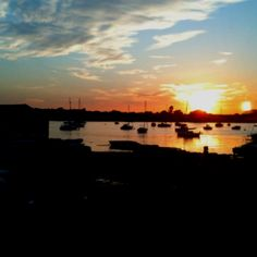 Chichester Harbour Sunset Chichester, Portsmouth, The Locals, Geography, Trips, Corner, Sea, Spaces, Sunset