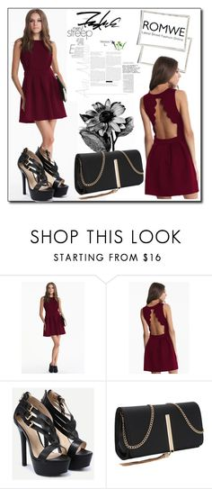 """""""ROMWE 5"""" by woman-1979 ❤ liked on Polyvore"""