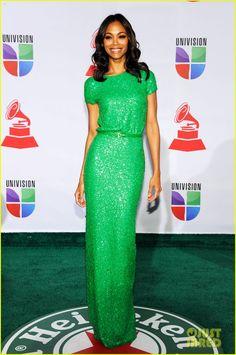Zoe Saldana: Latin Grammys in Las Vegas
