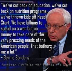 This is why we love Bernie.