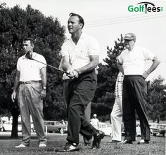 """What other people may find in poetry or art museums, I find in the flight of a good drive."""" --Arnold Palmer"""
