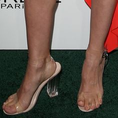 January Jones showing off her feet at the 2016 Elle Women In Hollywood Awards held at the Four Seasons Hotel in Beverly Hills on October 24, 2016