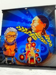 """""""MUJERES"""". Artist: BASTI y PABLO"""