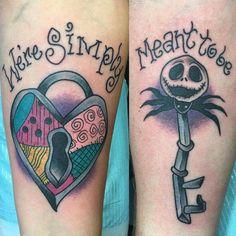 best Nightmare Before Christmas Tattoo Design Ideas Popular Tattoos, Trendy Tattoos, Cute Tattoos, Body Art Tattoos, Sleeve Tattoos, Tattoos For Women, Tatoos, Top Tattoos, Beautiful Tattoos