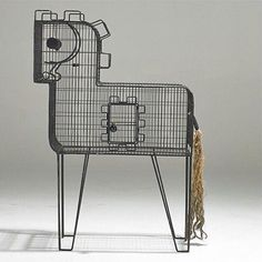 A birdcage from the 1950s
