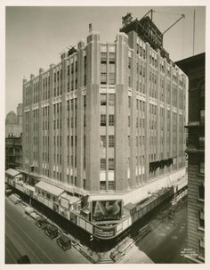 Abraham and Strauss, Brooklyn, NYC, New York  Historic 1929 Photo  My first real job. Oh how I loved it, so much fun, so many fun people. I was fortunate to be in the young mens shop. Everyone shopped there