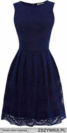 Oasis Lace Cutaway Dress in Blue