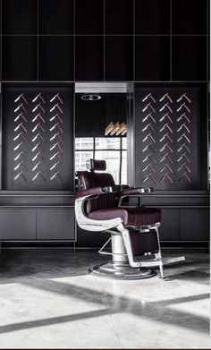 Takara Belmont Chair at Dubai's coolest Barbershop Concept- Chaps & Co