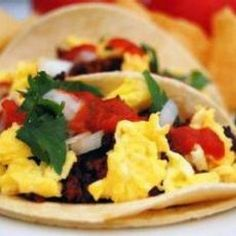 How-to: Authentic Mexican Tacos Healthy Breakfast Muffins, Mexican Breakfast Recipes, Breakfast Tacos, Sausage Breakfast, Breakfast Time, Brunch Recipes, Mexican Food Recipes, Healthy Recipes, Brunch Ideas