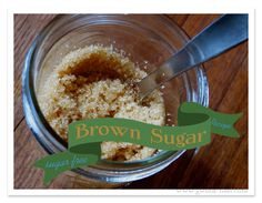 Sugar-Free Brown Sugar Recipe {Trim Healthy Tuesday} - Gwens Nest