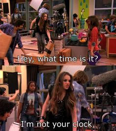 We show you the funniest burns from Victorious' Jade West in this funny Smosh gallery! Jade West Victorious, Icarly And Victorious, Victorious Quotes, Victorious Nickelodeon, Drake And Josh, Nickelodeon Shows, Funny Quotes, Funny Memes, Sam And Cat