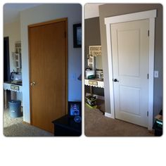 Changing out 1970's doors. Interior Doors and More, Bellingham WA