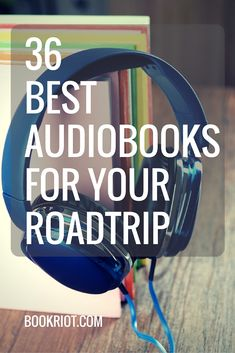 Tune in to some great audiobooks on your roadtrip (and beyond!) this summer.